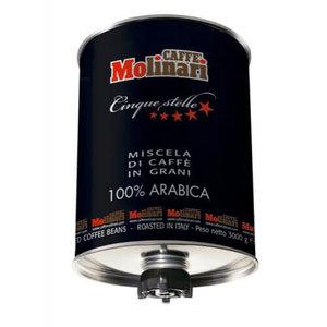 Caffe Molinari Cinque stelle 100% Arabica